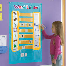 word ladder phonics activity center educational insights