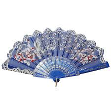 held fan boutique doda peacock design folding held fan wedding
