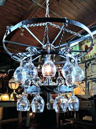 Wine Glass Chandelier Diy Diy Wine Glass Chandelier Eimat Co