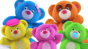 teddy bear finger family teddy bear teddy bear turn around nursery