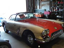 1961 corvette project for sale 1959 corvette for sale rustingmusclecars com