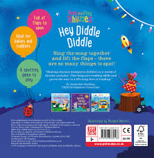 hey diddle diddle a baby sing along board book with flaps to lift