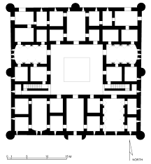 upper floor plan qasr al kharana upper floor plan of qasr al kharana azraq