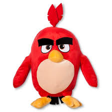 angry birds throw pillow buddy red angry birds target