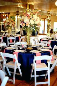 Preowned Wedding Decor Used Wedding Reception Decor Fascinating Navy And Pink Wedding