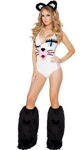 Halloween Animal Costumes Adults Cheap White Women Cat Costume Aliexpress Alibaba