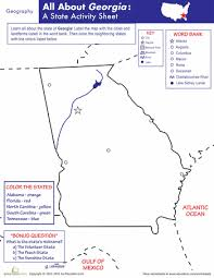 georgia geography geography georgia and worksheets