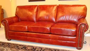 decoration in orange leather sofa set orange couch sofa for salet