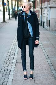 style ideas 10 ways to style your denim jacket in the winter