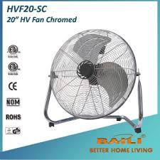 20 inch industrial fan 20 inch hv floor fan metal fan industrial fan chromed baili