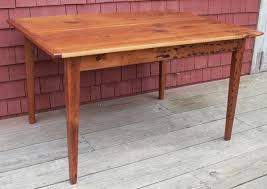 handmade shaker dining tables awesome shaker kitchen table home