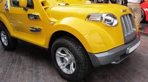 mahindra thar 2016 dc modified mahindra thar in india at delhi auto expo 2012 youtube