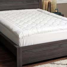 full size mattress pad soft plush fitted pillow top bed luxurious microplush pillow top mattress pad free shipping today