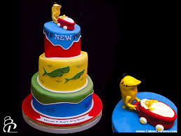 dr seuss baby shower cake three tiers topsy turvy whimsic u2026 flickr