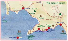 Map Of Pompeii Italy by Small Group Walking Tour Amalfi