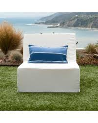 Best Fabric For Outdoor Furniture by Find The Best Deals On Softblock Lowboy White Indoor Outdoor