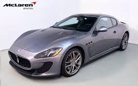 2013 maserati granturismo interior 2013 maserati granturismo mc for sale in norwell ma 074234