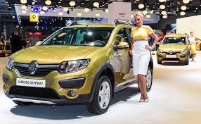 renault sandero stepway new dacia sandero arrives in russia badged as a renault