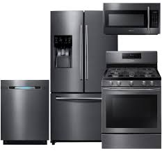 samsung appliance rf263beaesg4pckit2 black stainless steel series