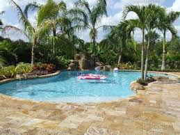 Swimming Pool Backyard Designs by Best 25 Tropical Pool Landscaping Ideas Only On Pinterest Pool
