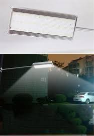48led microwave radar motion sensor solar lamp 1000lm highlight