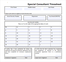 timesheet sample tempss co lab co