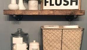 Rustic Bathroom Decor Ideas Rustic Bathroom Decor Cottage Idea Impressive Decoration