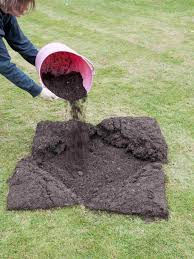how to fix lawn depressions and hollows hgtv