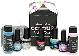 amazon com artistic colour gloss professional starter kit nail