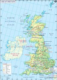 World Map With Cities Graphatlas Com United Kingdom