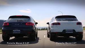 Porsche Macan S - porsche macan s vs 2 0t youtube