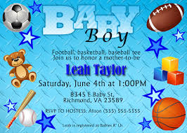 baby shower invitations sports theme afoodaffair me