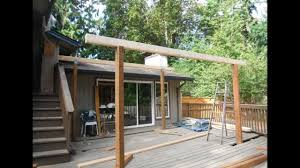 Pergola Plastic Roof by Deck Roof Span Tables Deck Design And Ideas