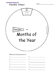 time and calendar activities at enchantedlearning com