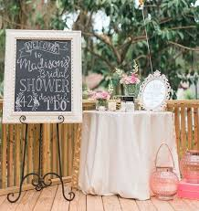 themed bridal shower decorations best 25 bridal shower chalkboard ideas on kitchen tea