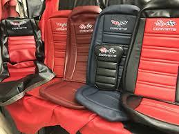1968 corvette seats 1968 1982 corvette c3 seat covers pair ebay
