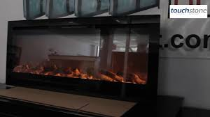 Recessed Electric Fireplace Touchstone Sideline Recessed Electric Fireplace Review Youtube
