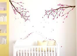 stickers pour chambre bébé garçon 296252481724418384 sticker mural chambre bacbac avec branches