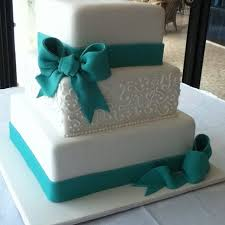 Teal Wedding Best 25 Teal Wedding Cakes Ideas On Pinterest Pastel Square
