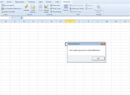 breaking the excel security features spreadsheet consultancy inc
