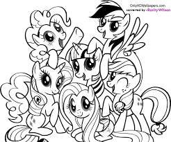 top pony coloring pages best coloring book ide 5425 unknown