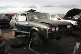 lifted subaru justy junkyard find 1978 subaru leone 4wd wagon the truth about cars