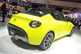 toyota coupe toyota u0027s s fr coupe concept makes its first live appearance w video