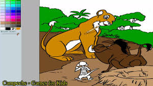 lion king online coloring pages nala timon and pumbaa