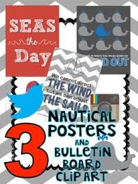 themed posters nautical themed posters and bulletin board graphics by s