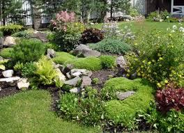 exterior small rock front yard garden design rock garden outdoor