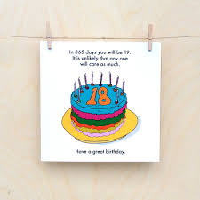 funny 18th birthday card funny 18 rude 18th 18th birthday