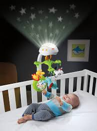 Moving Baby To Crib by Amazon Com Fisher Price Deluxe Projection Mobile Rainforest