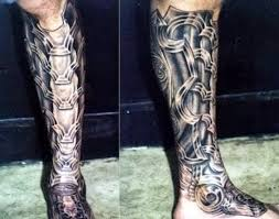 biomechanical tattoos and designs page 120