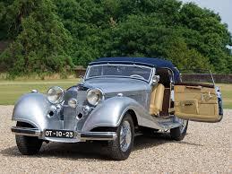 1938 mercedes benz 540k cabriolet a retro luxury interior f